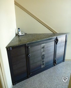 Granite and Metal Table